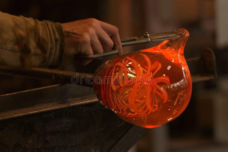 Fabricante de vidro imagem de stock
