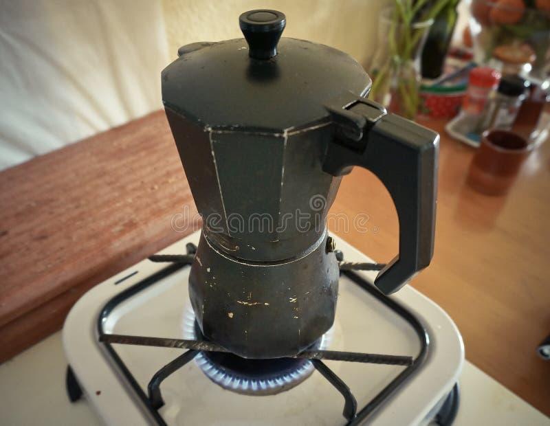 Fabricante del café sólo imágenes de archivo libres de regalías