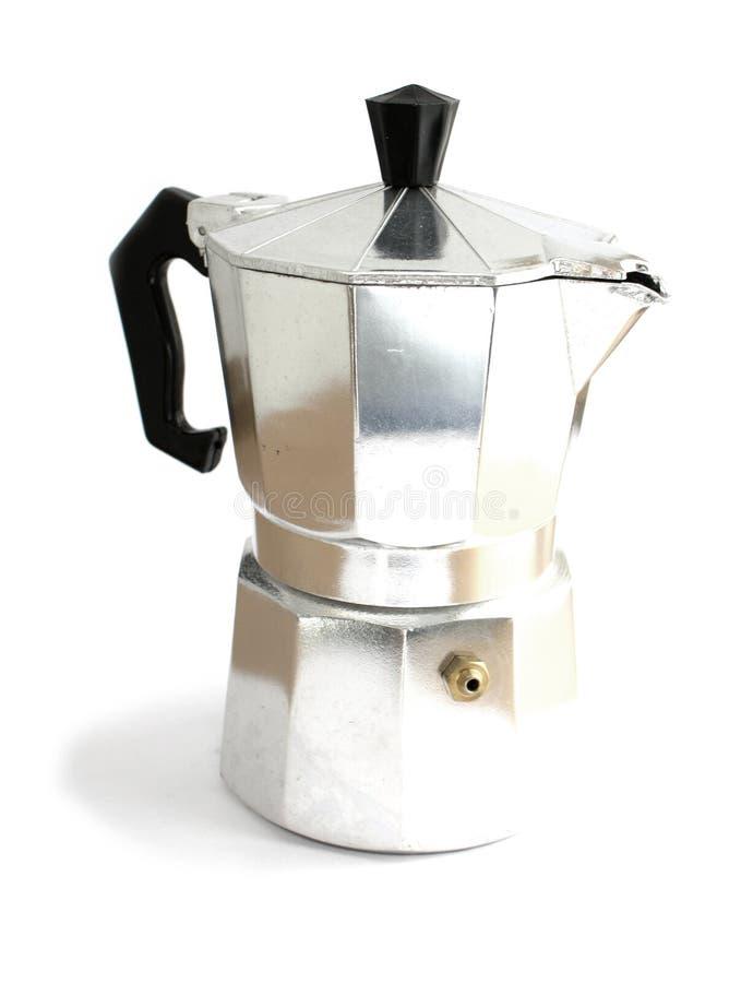 Fabricante do café foto de stock