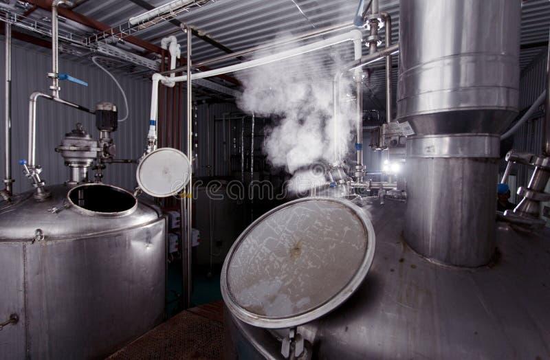 Fabricar cerveja reveste foto de stock royalty free