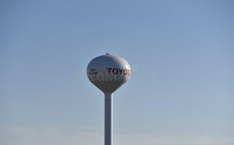 Fabrication Blue Springs, Mississippi de Toyota Motor photos stock