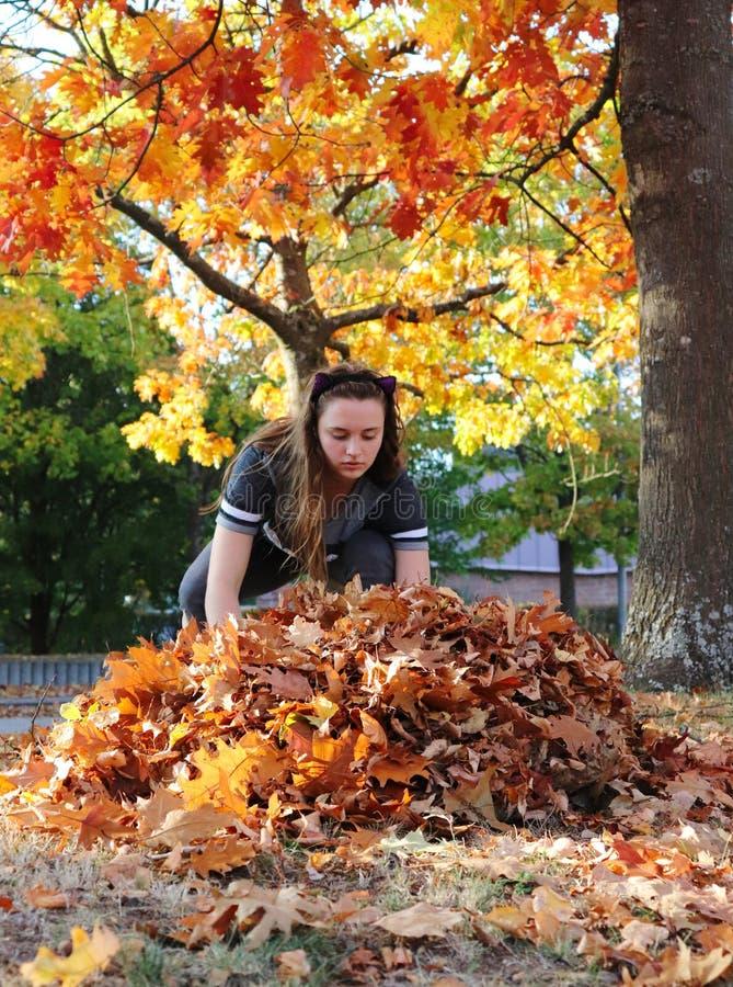 Fabrication d'une pile des feuilles en Allemagne images stock