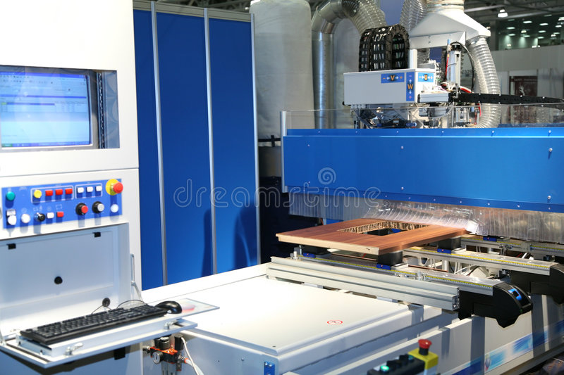 Fabrication d'une trappe photo stock