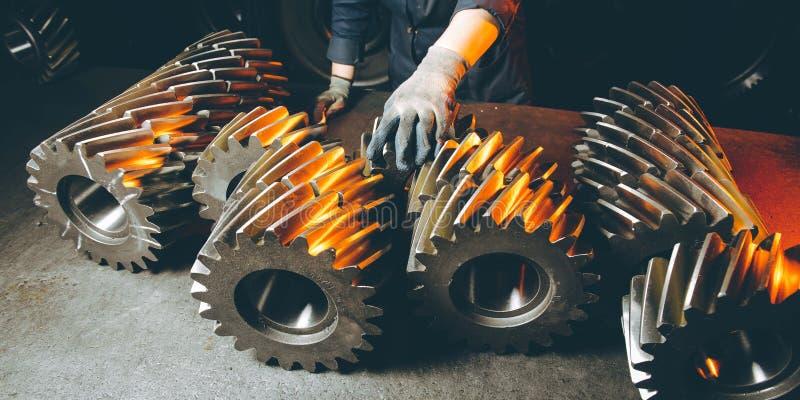 Fabrication de roue de vitesse image libre de droits