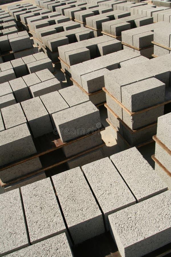Fabrication industrielle de brique images stock
