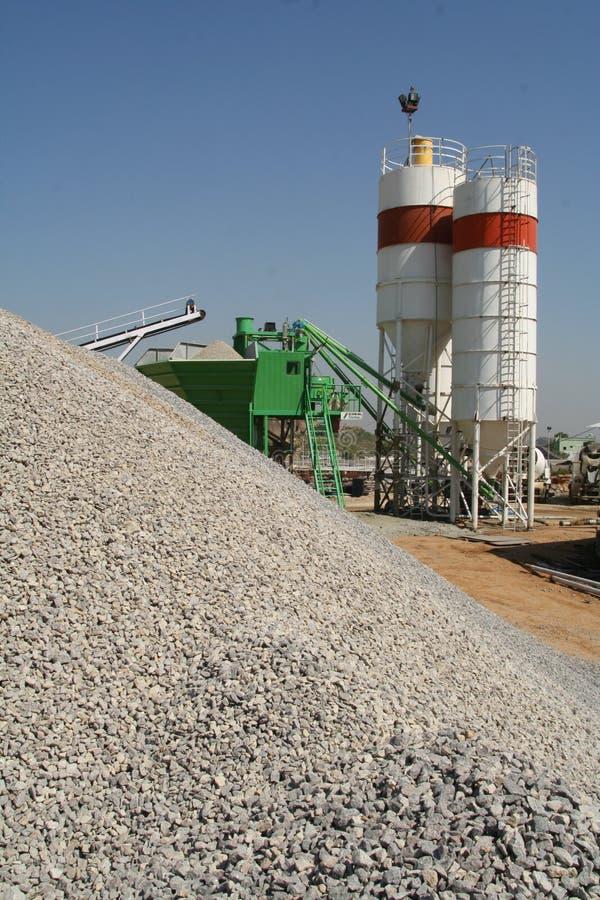 Fabrication industrielle de brique photos stock