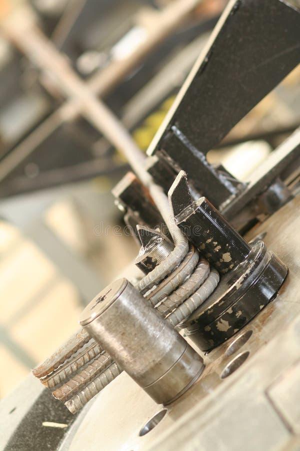 Fabrication industrielle de brique photos libres de droits