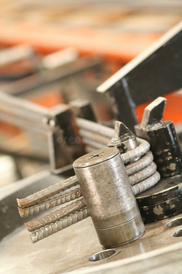 Fabrication industrielle de brique photographie stock libre de droits