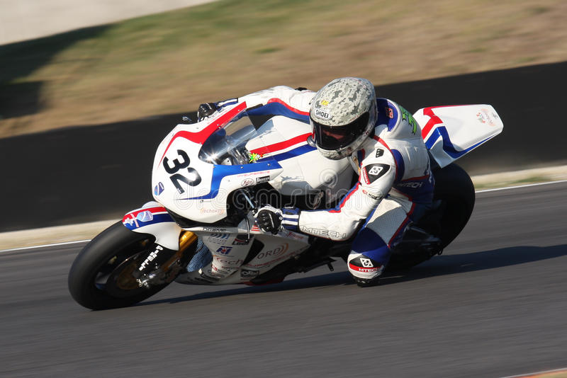 Fabricio Lai - Honda CBR1000RR - deporte de la generación de eco imagen de archivo