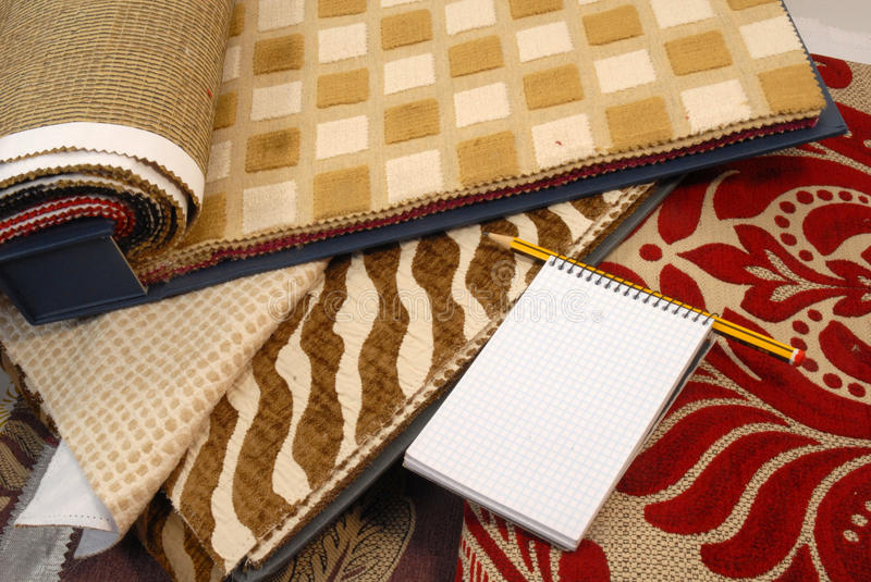 Download Fabrics For Home Decoration Royalty Free Stock Photo - Image: 19008885