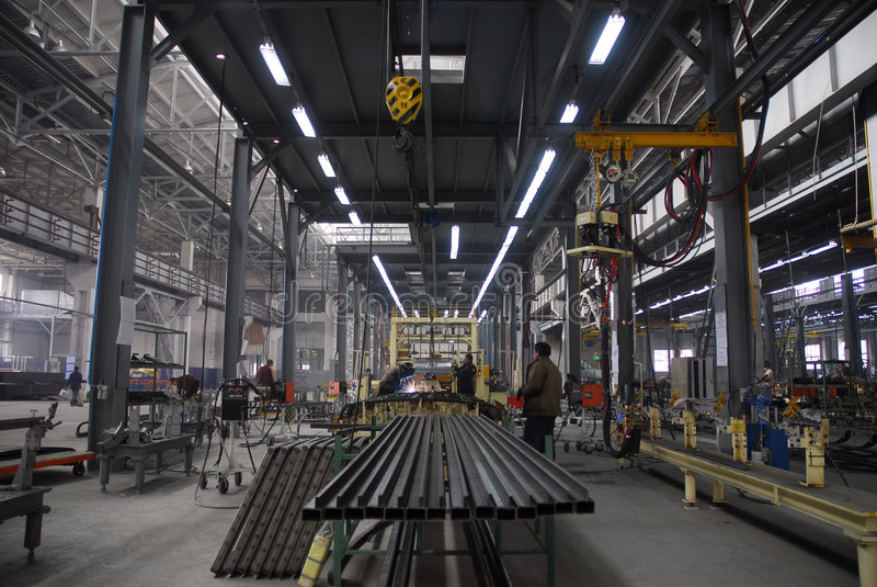 Fabriek 2 royalty-vrije stock fotografie