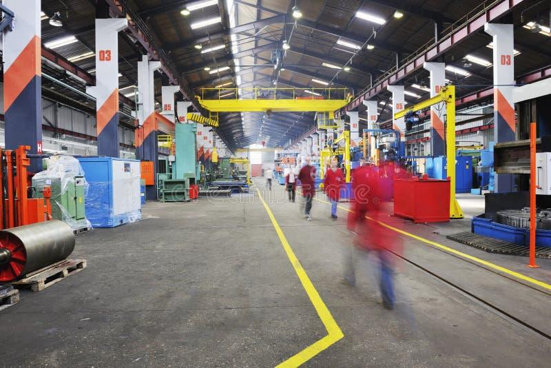 Fabriek binnen stock afbeeldingen
