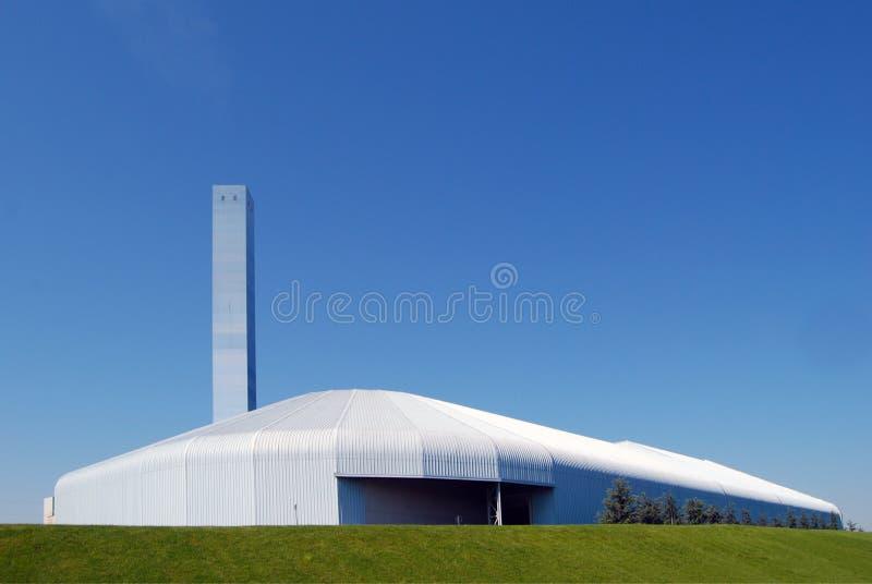 Fabriek - Moderne Gieterij stock fotografie