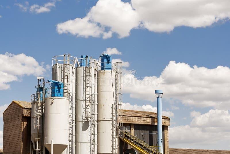 Fabriek voor Industriële Productie royalty-vrije stock foto