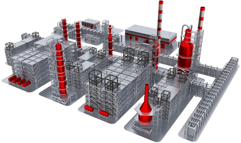 Fabrik lizenzfreie abbildung