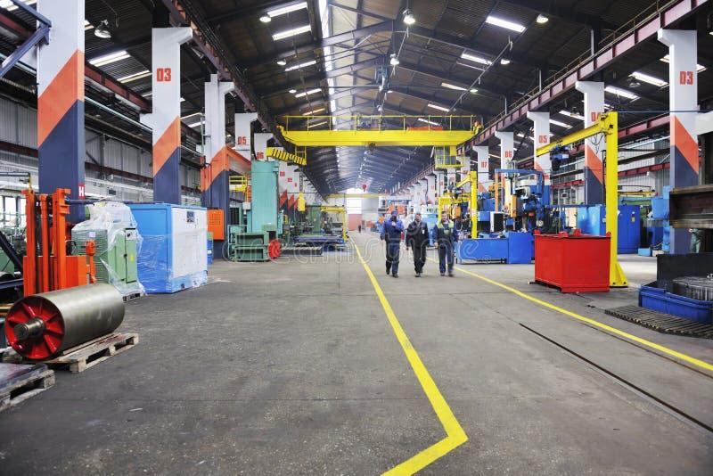 Fabrik Innen lizenzfreie stockfotos