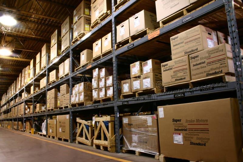 Fabrik-Lager stockfoto
