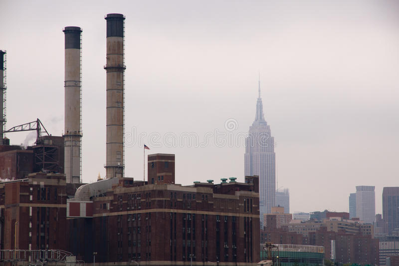 Fabrik New York stockfotografie