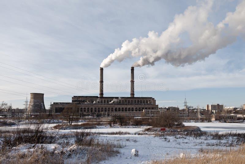 Fabrik oder Anlage stockbilder