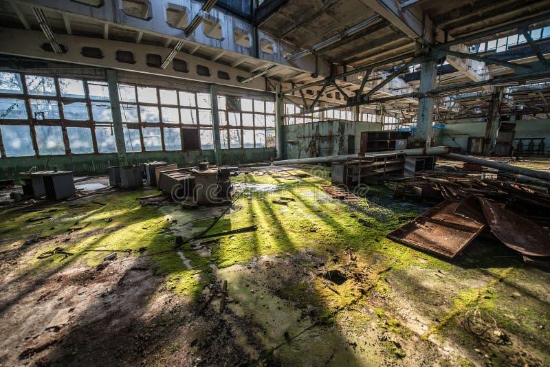 Fabrik in Pripyat lizenzfreies stockfoto