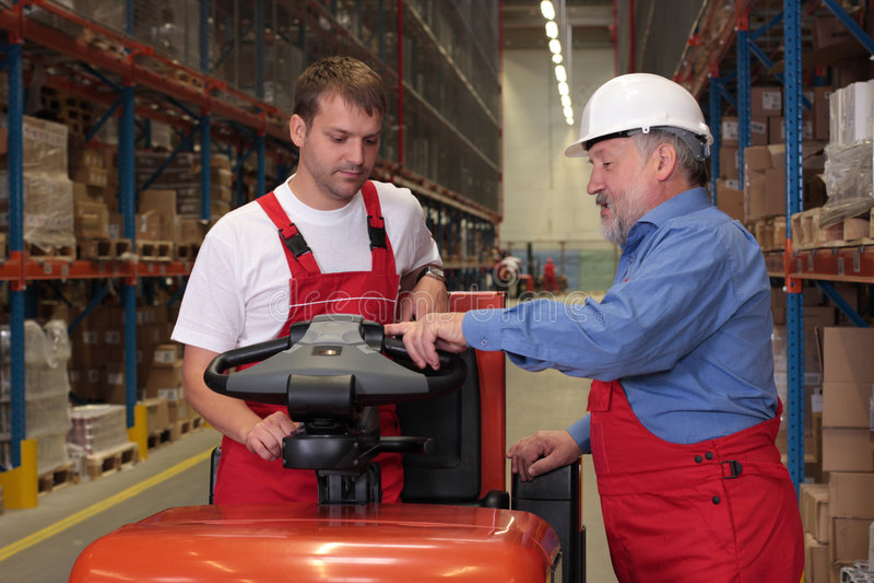 Fabrik-Training lizenzfreies stockfoto