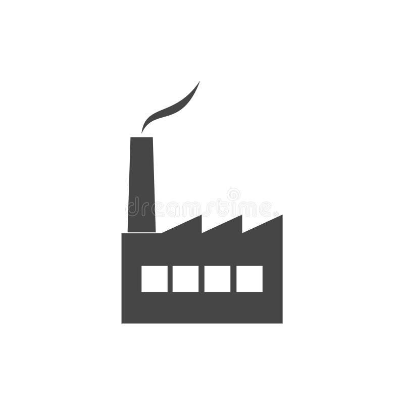 Fabrikikone lizenzfreie abbildung