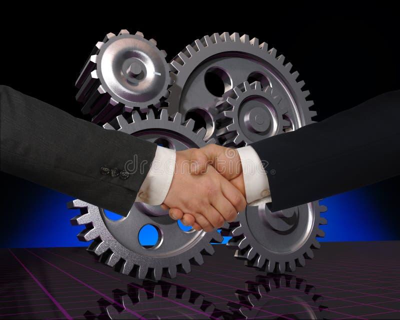 Fabriks- partners arkivbild