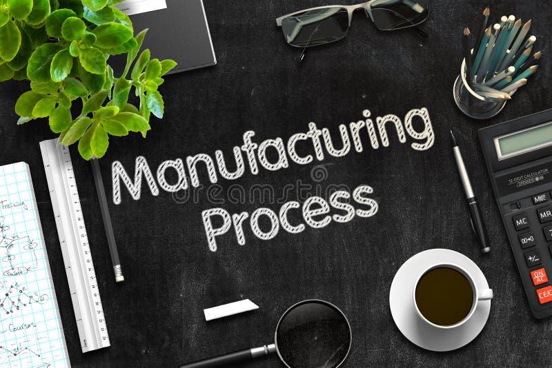 Download Fabriks- Process På Den Svarta Svart Tavlan Framförande 3d Fotografering för Bildbyråer - Bild av produktion, framförande: 78725437
