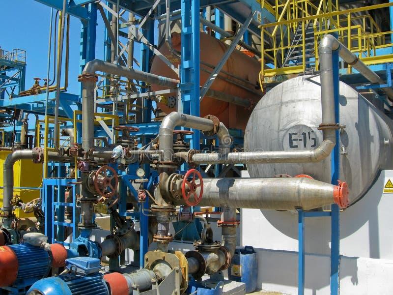 fabriksinstallation arkivfoto