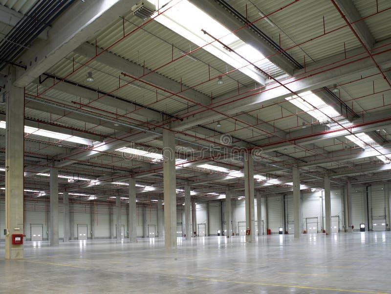 fabrikskorridor royaltyfri bild
