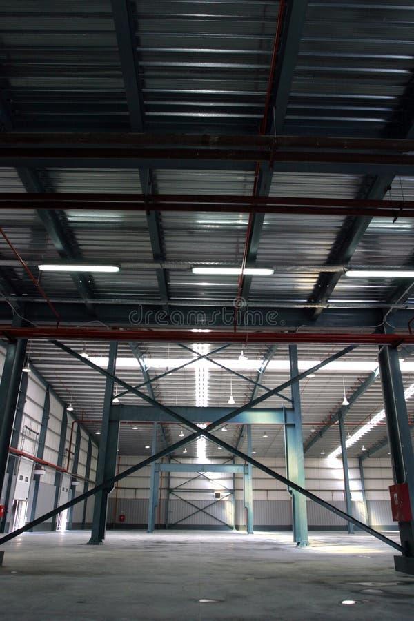 fabrikskorridor royaltyfri foto