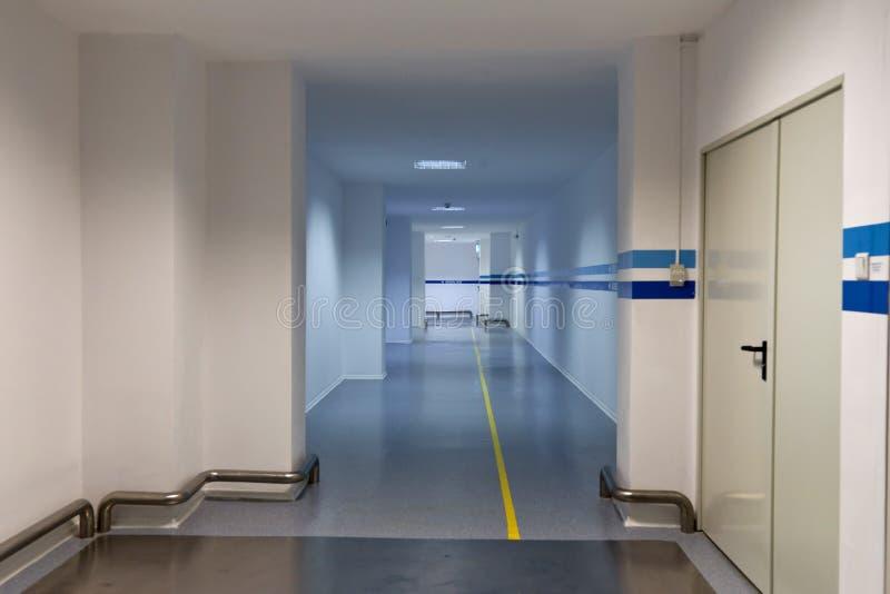fabrikskorridor royaltyfri fotografi