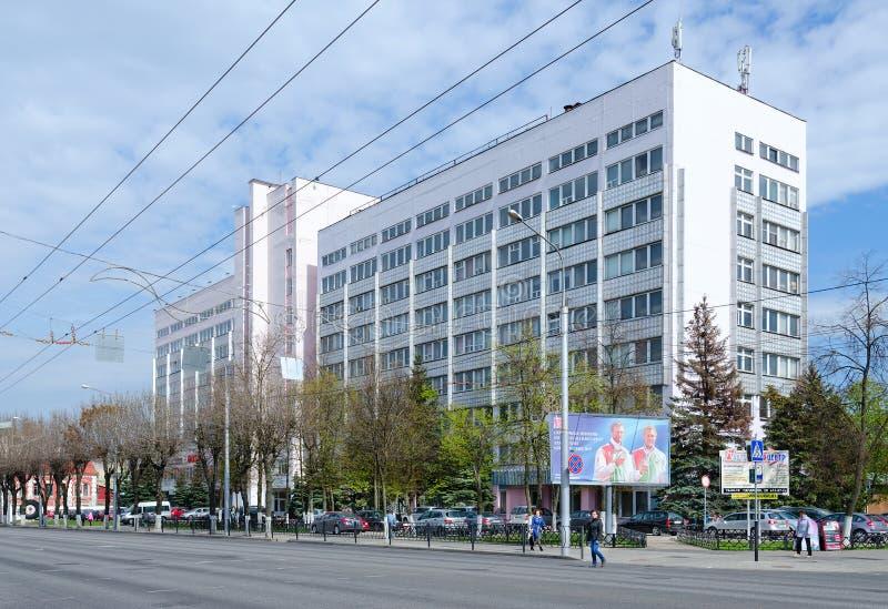 Fabriksledning av materielföretaget StankoGomel, Vitryssland för öppen skarv arkivfoto