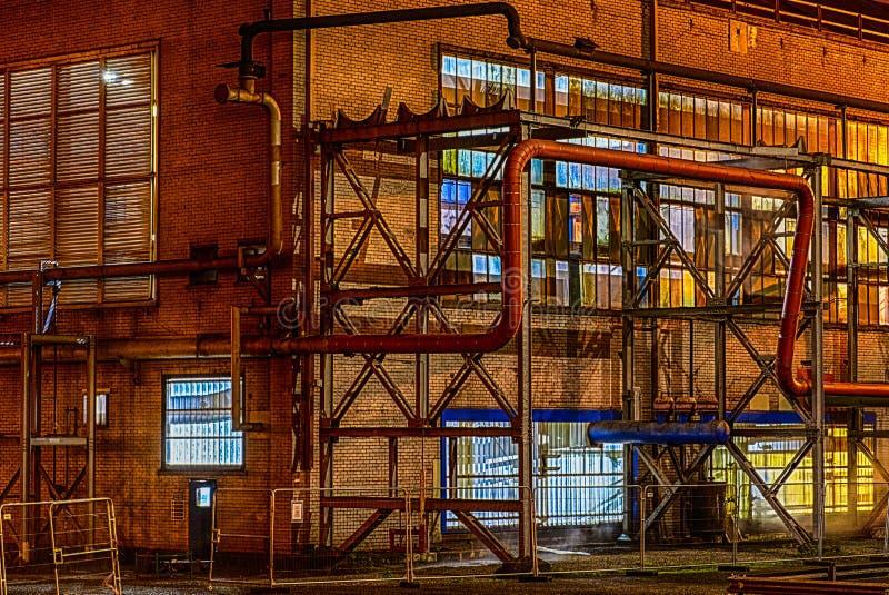 Fabriksnatt arkivfoton