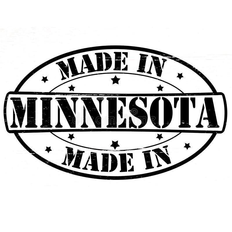 Fabriqué au Minnesota illustration libre de droits