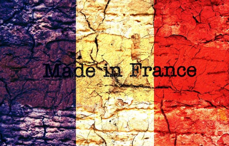 Fabriqué en France illustration stock