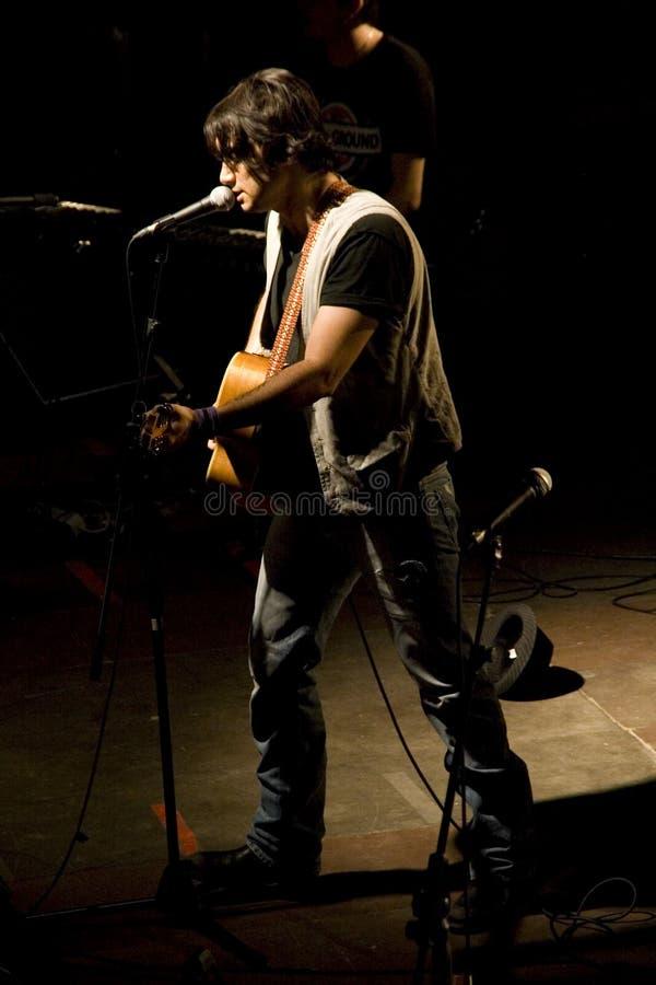 Fabrizio Moro fotografie stock libere da diritti