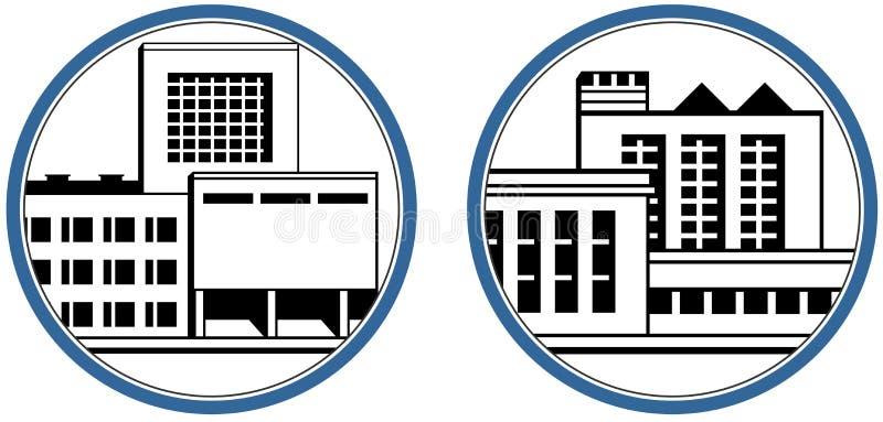 fabryczna ikony ilustracja wektor