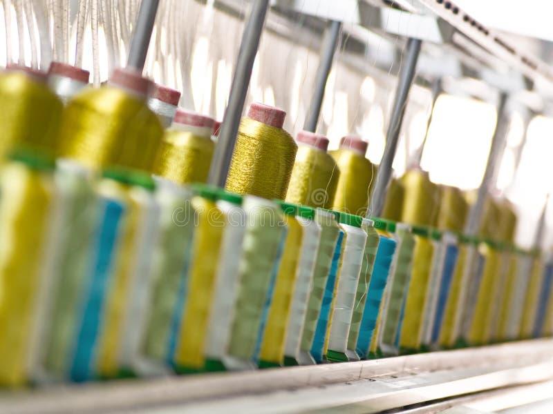 fabryczna tkaniny zdjęcia royalty free