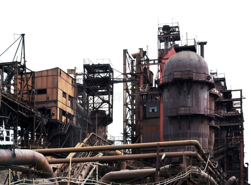 fabryczny przemysłowy stary zdjęcie royalty free