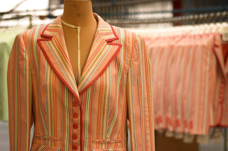 fabryczny textil fotografia royalty free