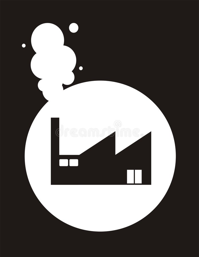 fabryka obrazy stock
