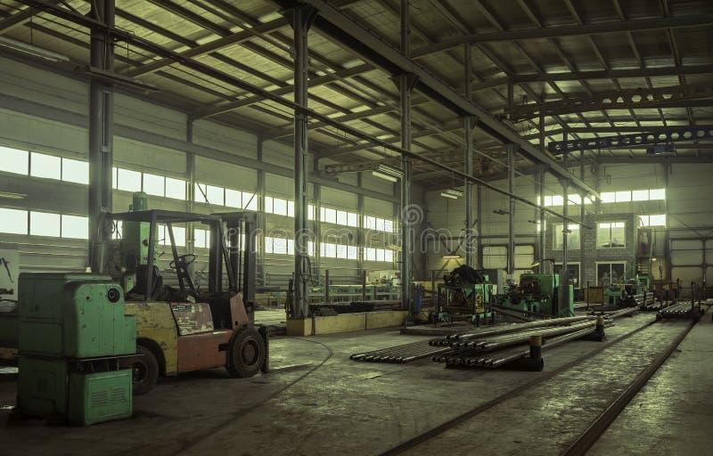 Fabryka dokąd produkujący świder drymba fotografia royalty free