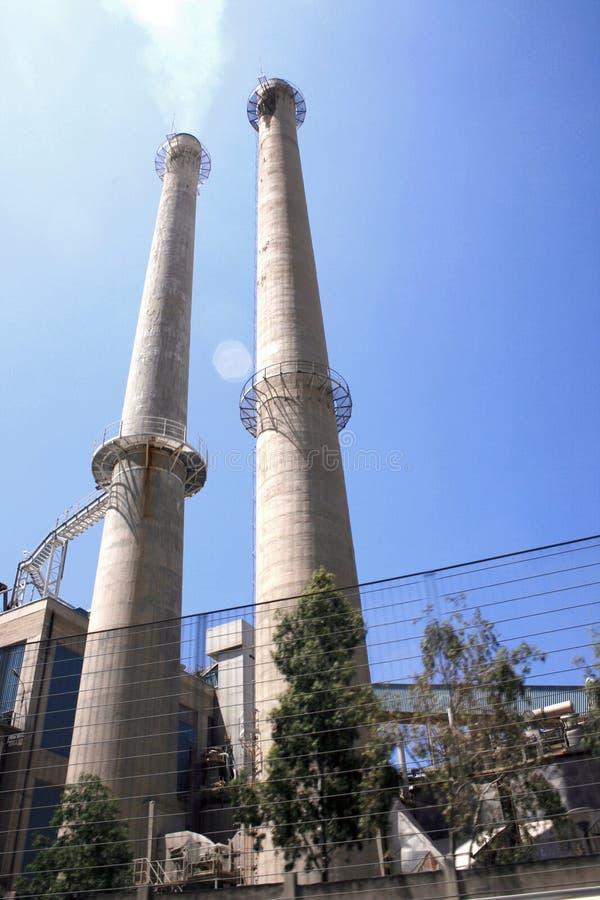 fabryka kominowa zdjęcie stock