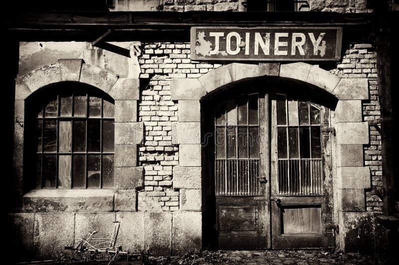 fabryka stara zdjęcia stock
