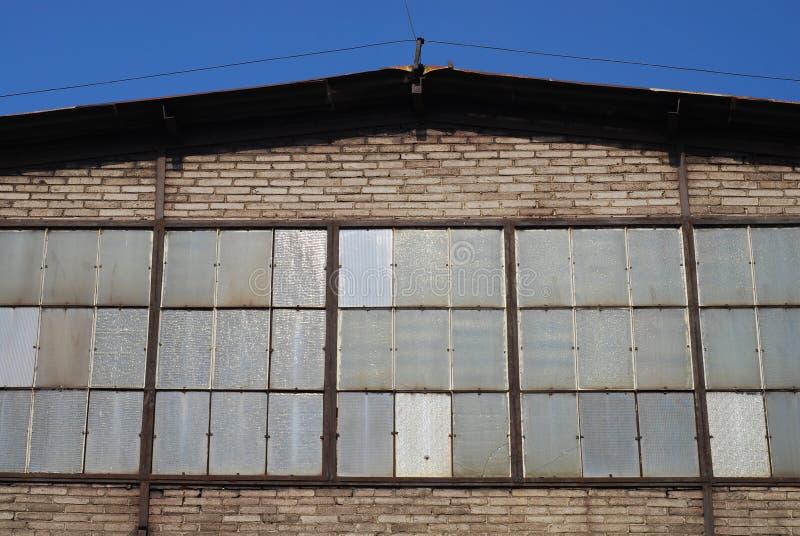 fabryka stara obrazy stock