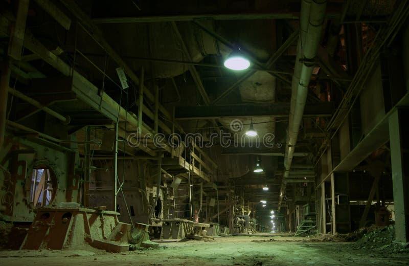 fabryka stary opuszczony fotografia royalty free