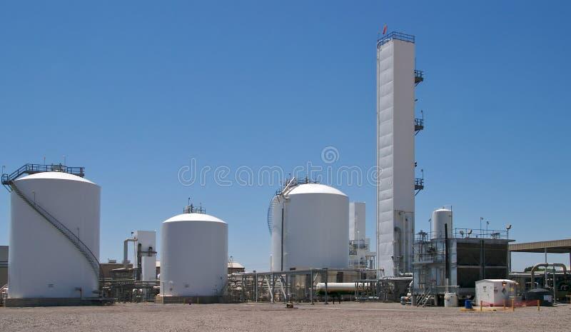 fabryki chemicznej zdjęcia royalty free