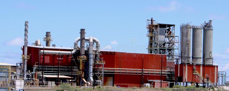 Fabryki chemikaliów fabryka zdjęcia stock