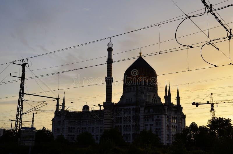 Fabrykować Yenidze w Drezden obraz royalty free
